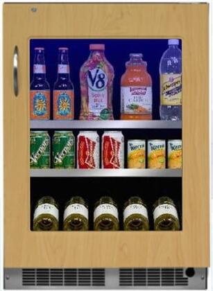Marvel MP24BCF4RP Professional Series 24 Inch 5.3 cu. ft. Capacity Built In Compact Beverage Center in Panel Ready