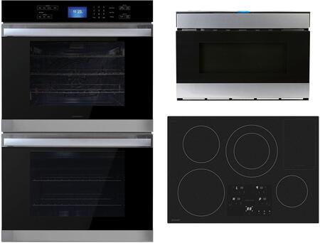 3 Piece Kitchen Appliance with SDH3042DB 30