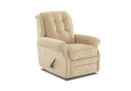 Sand Key Collection 57603H-RRC-FO 32 inch  Rocking Reclining Chair with Easy Pull Handle  Petite Rolled Arms  Button Tufted Back and Welted Panel Cushion in Furby