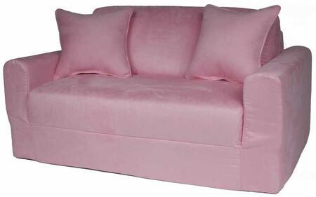 10230 Sofa Sleeper Pink Micro
