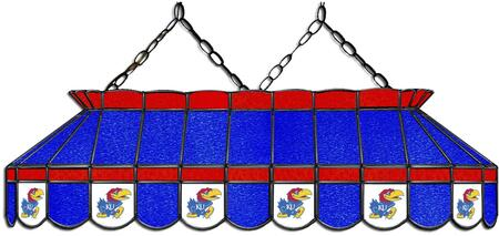 333-3120 University of Kansas 40-in. Stained Glass Pool Table