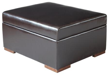 PC777 Paris Convertible Ottoman Sleeper  Multi-Use for Extra Value  Spring Supported Sleep Surface: Dark