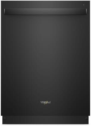 "Whirlpool 24"" Built-In Dishwasher Black WDT750SAHB"