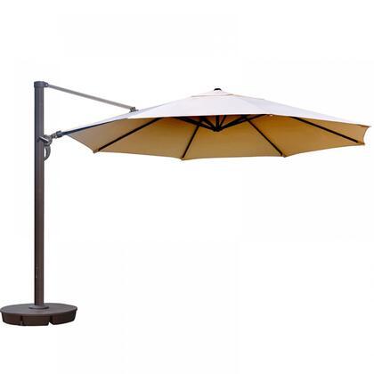 NU6745 Victoria 13-ft Octagon Cantilever in Beige Sunbrella