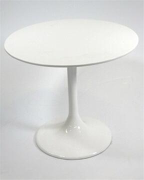 Fmi1207-white Flower End Side Table