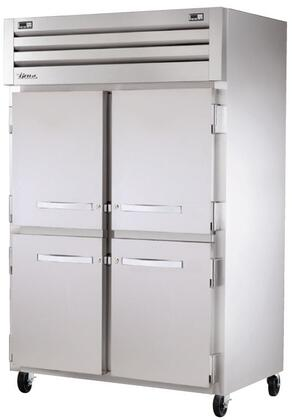 STA2DT-4HS Spec Series Two-Section Reach-In Refrigerator and Freezer with Dual Temperature  LED Lighting  and Solid Half