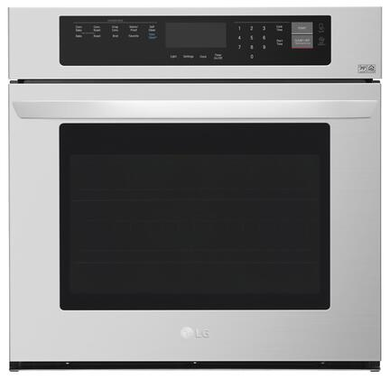 LG LWS3063ST 4.7 Cu. Ft. Stainless Electric Convection Wall Oven