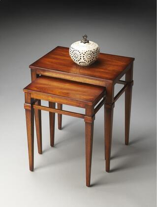 2219011 Nest Of Tables In Antique Cherry Finish Set Of