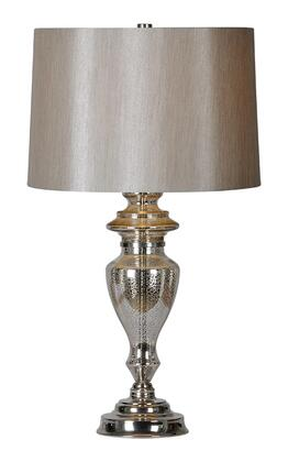 LPT431 Winola Table Lamp Table Lamp in Silver