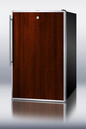 FS408BLBIFR Built-in Undercounter Freezer With 2.8 Capacity  Slide In Panel Door  Manual Defrost  Factory Installed Lock  100% CFC