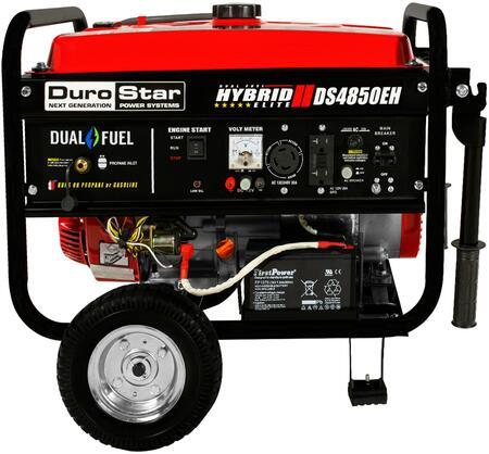 DuroStar DS4850EH 4,850-Watt Dual Fuel Hybrid Generator w/Electric Start