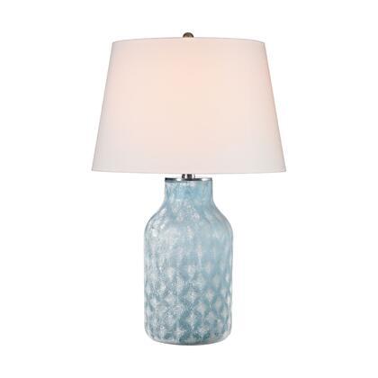 D2922 Sophie 1 Light Table Lamp in Santa Monica Blue e