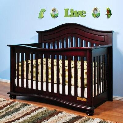 4688C Jordana Lia 3-in-1 Convertible Crib in