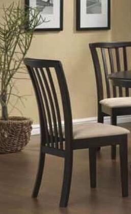 Everett_Collection_5011-S_Dining_Side_Chair_with_Slat_Back__CAFR_Foam__Microfiber_Seat_and_Rubberwood_Construction_in_Cherry