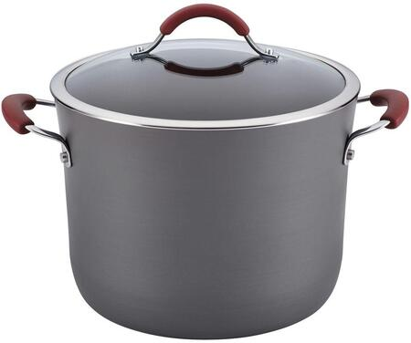 87634 10-Quart Covered Stockpot  Cranberry