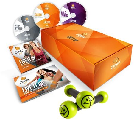 D0D00169 Gold Live It Up DVD Set for the Baby Boomer