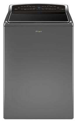 """WTW8700EC 28"""""""" Energy Star Rated Smart Cabrio Top Load Washer with 5.3 cu. ft. Capacity  Laundry App  Low-Profile Impeller  Specialty and Customized Cycles in"""" 527050"""