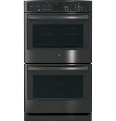 "PT7550BLTS 30"" Built-In Double Wall Oven with Ten-Pass Bake Element  Self-Clean with Steam Clean Option  True European Convection  Glass Touch Controls"