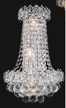 Firework Collection SP99005WC 12 inch  Wide Wall Light in Chrome