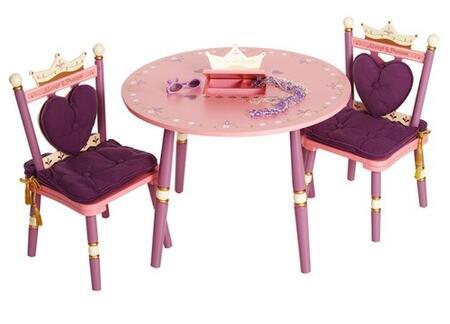 LOD20008 Princess Kids' Table and Chair