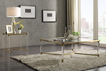 Penstemon Collection 80095SET 2 PC Living Room Table Set with 39