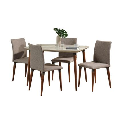 2-10128521011453 5-Piece Charles Dining Set with 45