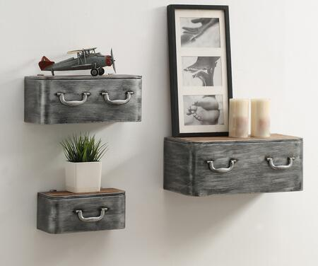 162019 Industrial Collection Urban Loft 3 Pc Hanging Wall