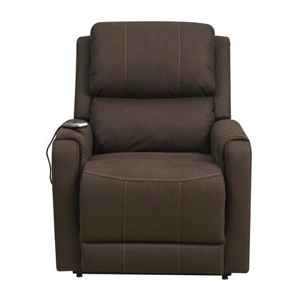 A309-016-064 Heat & Massaging Lift Chair with Easy to Clean Faux Leather  Remote Control and Subtle Contrast Stitching in Modesto