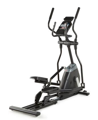 """PFEL03916 250i Elliptical with 17"""" Stride  Silent Magnetic Resistance  14 Preset Workouts and EKG Grip"""