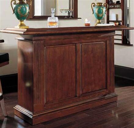 600031SD Prescott Home Bar With Hanging Stemware
