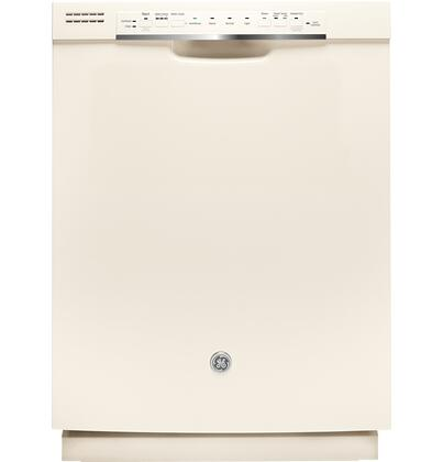 "GE 24"" Tall Tub Built-In Dishwasher Bisque GDF570SGJCC"