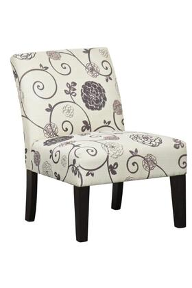 DS-2661-270-410 Dining Chair Swirl Floral in Multi