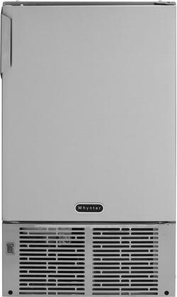 MIM-14231SS 14 inch  Ice Maker with 23 lb Daily Crescent Ice Production  12 lb Storage Capacity  Ice Scopp  Ice Bin and Manual Defrost  in Stainless