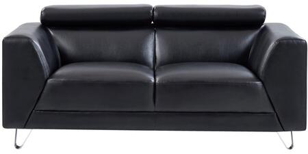 U8210 - PLUTO BLACK - LOVESEAT 68
