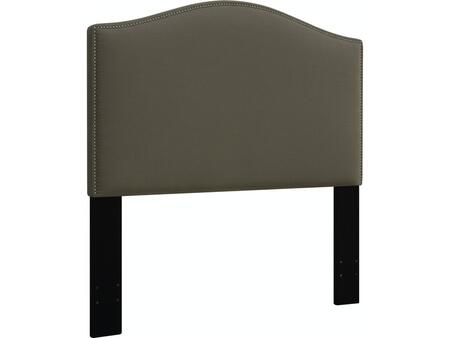DS-D016-270-373 Fabric Upholstered Headboard For King Bed with   Nail Head Accents in