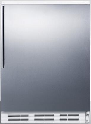 FF67SSHV 24 inch  FF67 Series Energy Star  Medical  Commercial Freestanding Compact Refrigerator with 5.5 cu. ft. Capacity  Crisper  Door Storage  Interior Light