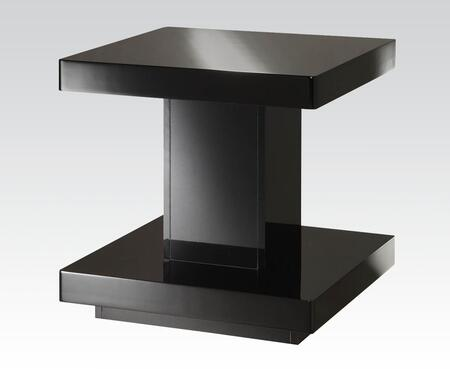 Koren Collection 80727 22 inch  End Table with Square Shape  Medium-Density Fiberboard