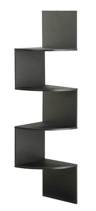 San Dimas Collection 99900 54 inch  Hanging Corner Wall Mounted Storage with 4 Contoured Shelves in