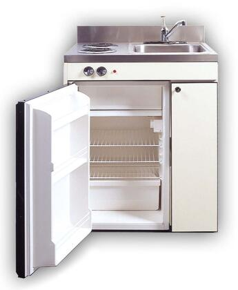 RGS10Y39 Efficiency Kitchenettes Compact Kitchen with Sink and Compact Refrigerator and Optional Gas Burners: 39