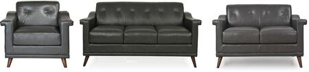 Kak Collection 35603ANS13301SLC 3-Piece Living Room Set with Sofa  Loveseat and Chair in