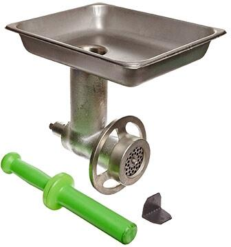 AX-G12D Meat Grinder Attachment with Pan and Plunger for Axis