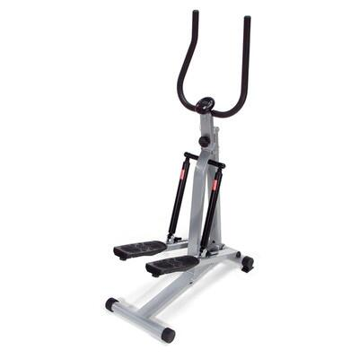 400069 SpaceMate  Folding Stepper With Two Adjustable-Resistance Hydraulic Cylinders Battery-Operated Electronic Monitor  Skid Resistant Rubber in Steel Frame