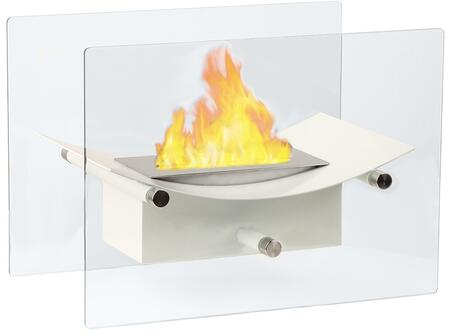 GF301900W Cavo Tabletop Ventless Bio Ethanol Fireplace in