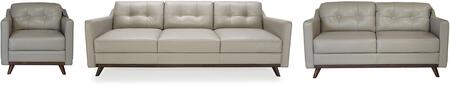Monika Collection 35903MS1308SLC 3-Piece Living Room Set with Sofa  Loveseat and Chair in
