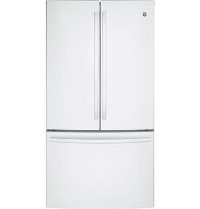 GNE29GGKWW 36 Freestanding French-door Refrigerator with 28.5 Cu. Ft. Capacity  TwinChill evaporators  Advanced water filtration and