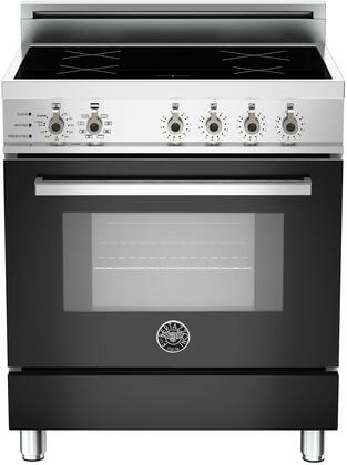 "PRO30 4 INS NE 30"" Professional Series Induction Range with 3.6 cu. ft. European Convection Oven 4 Induction Heating Zones Self-Cleaning and Telescopic Glide"