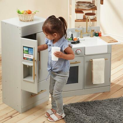TD12302A Urban Adventure Play Kitchen with Ice Maker Function -