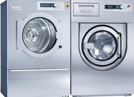 Front load Laundry Pair with PW6207S Steam Washer and PT8407S Steam