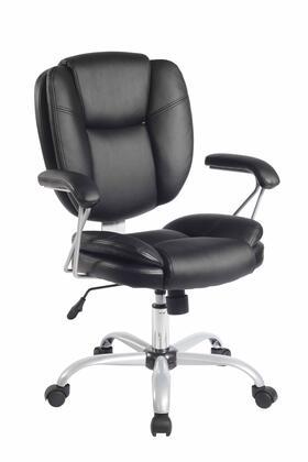 RTA-0930-BK Techni Mobili Plush Task Chair in