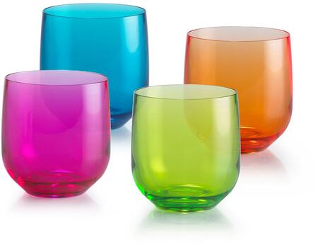 07661204 Mixed Colors Neon Tumblers(Set of